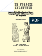 Seven Voyages of Zylarthen - Vol. 4, The Campaign