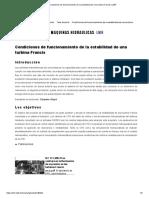 Condiciones de Funcionamiento de La Estabilidad de Una Turbina Francis _ LMH