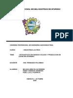 Produccion de Leche en Apurimac_Estadisticas