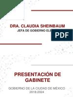 Gabinete de Claudia Sheinbaum