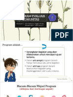 PROGRAM EVALUASI KOMUNITAS Kelompok 2.pptx