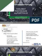 Slide Taklimat MyPORTFOLIO Pgb 2018