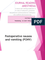 Lulu Hasna - Ppt Journal Reading Anesthesia