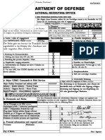 Contract for Active Duty