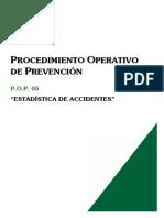 Pop05-Estadistica de Accidentes