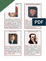 Cuadros Biograficos Reformistas y Separatistas