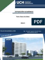 Bases de Datos 2018_2