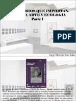 Jorge Miroslav Jara Salas - Territorios Que Importan. Género, Arte y Ecología, Parte I