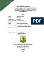 Pengaruh Konsentrasi Rootone-F terhadap Stek tanaman Kentang Varietas Granola untuk Produksi umbi G1