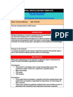 educ 3316 -article review template