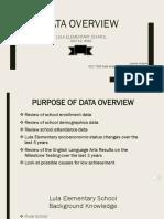 groover larrece data overview