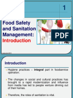 1 Food Safety - Introduction