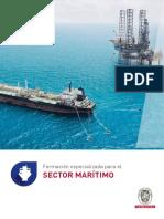 Catalogo Formacion Especializada Sector Naval 2018