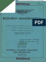 NACA Research Meorandum
