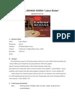 Resensi Novel Bahasa Sunda