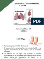 EDEMA Patologia