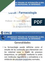 Farmacología Generalidades