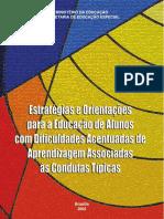 Estratégias e Orientação Para Educação de Alunos Com Difuculdades..