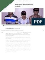 Myanmar Army Raids Home, Detains Alleged Arakan Army Insurgents