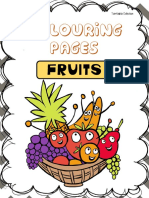 coloring pages - fruits.pdf