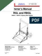 OM WALTCO RGL RBGL-Series Owners Manual en-US 160225-w Original 85078 (2)