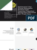Implementasi Lima Strategi Memangkas Birokrasi Pada Organisasi Pengadaan