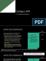 13 Códigos APA