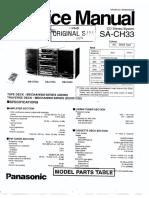 Panasonic SA CH33