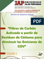 Filtros de Carbon Activado a Partir de Residuos de Cañamo Para Disminuir Las Emisiones de Cov