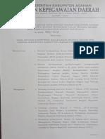 Keputusan Kepala BKD Asahan No. 800 / 1328 Tentang Hasil SKD CPNS Asahan 2018