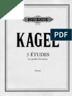Mauricio Kagel - 3 Etudes For Orchestra.pdf
