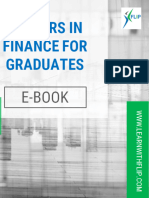 Careers in Finance for Graduates