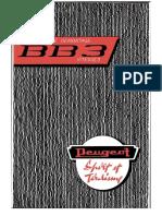 Peugeot BB3 1961 OCR ENG Translate