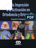 De La Impresión a La Activación en Ortodoncia y Ortopedia ESEQUIEL RODRIGUEZ