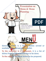 Menu Presentation ORIGINAL