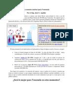 La Sensatez Nuclear Para Venezuela