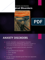 day 2  anxiety disorders rv rushed