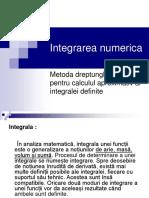 57287729 Integrarea Numerica Metoda Dreptunghiurilor Pentru Calculul Aproximativ Al Integralei Md