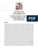 CV-Dr.Punit Kumar Dwivedi 05 Dec.2018