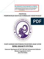 Proposal Bantuan Tanah Waqaf