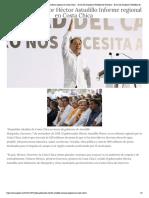 07-11-2018 Rinde Gobernador Héctor Astudillo Informe regional en Costa Chica.