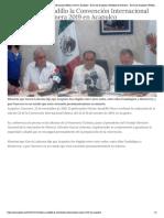 24-11-2018 Confirma Astudillo la Convención Internacional Minera 2019 en Acapulco.