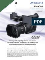 Visual Panasonic AGAC90 ENG