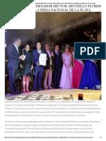 24-11-2018 INAUGURA EL GOBERNADOR HÉCTOR ASTUDILLO FLORES LA 81 EDICIÓN DE LA FERIA NACIONAL DE LA PLATA.
