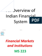 1 - Overview of Indian Financial System