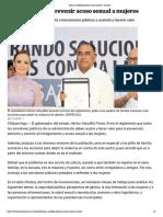 28-11-2018 Busca Astudillo Prevenir Acoso Sexual a Mujeres.