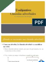 clásulas adverbiales