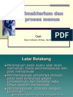 Klimakterium Dan Menopause