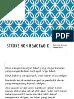 Stroke Non Hemoragik