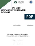 Modul 7 Ketahanan Masyarakat Dlm Bencana TFS
